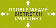 DOUBLE WEAVE BISTRETCH DWR LIGHT