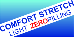 COMFORT STRETCH LIGHT ZEROPILLING