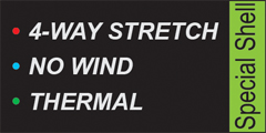 special Shell 4WAY STRETCH