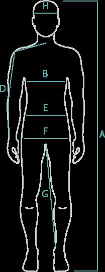 サイズ参照(mens/unisex)