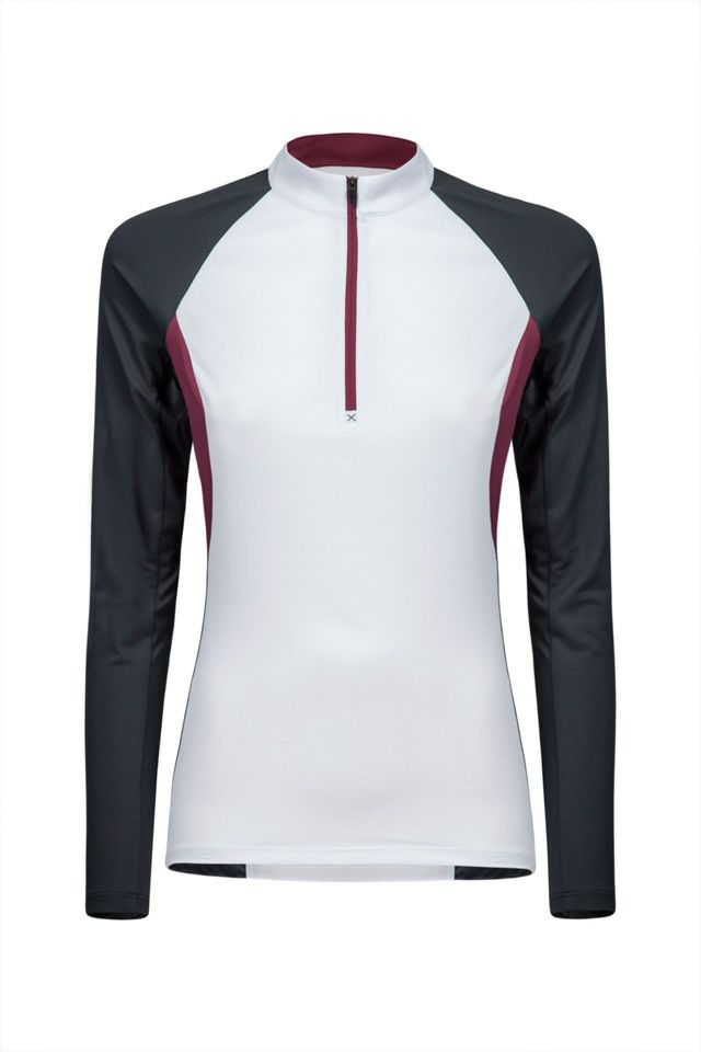 OUTDOOR PERFORM ZIP MAGLIA WOMAN